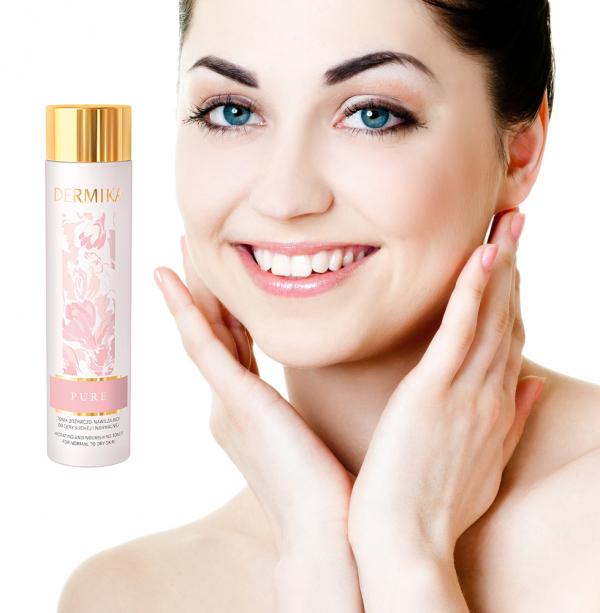 Reinigt die Gesichtshaut: Dermika Pure