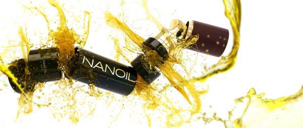 Verschiedene Gesichter des Haaröls Nanoil. Prüfen Sie, wie es wirkt!