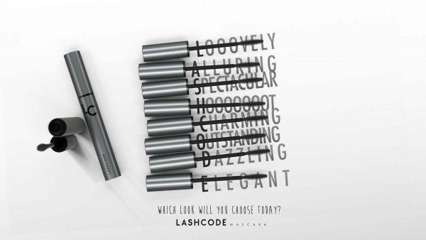 Kraft des schönen Blicks, also die pflegende Mascara – Lashcode