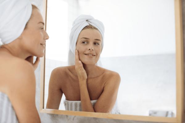 Pflege der trockenen Haut