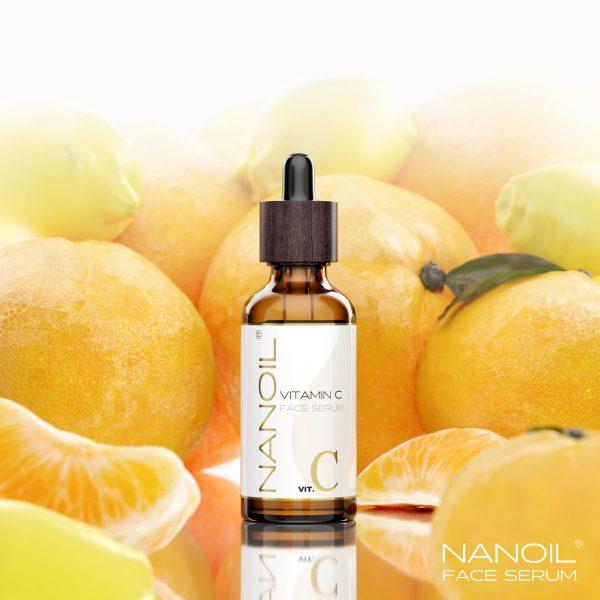 Nanoil Gesichtsserum mit Vitamin C – alles, was Ihre Haut braucht